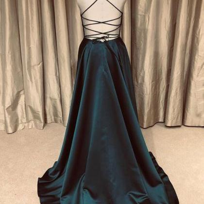 Simple Prom Dresses,Party Dresses,L..