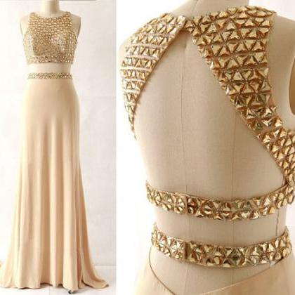On Sale 2 Pieces Prom Dress,Mermaid..