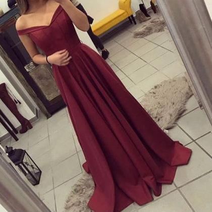 Off The Shoulder Formal Gown ,Part..
