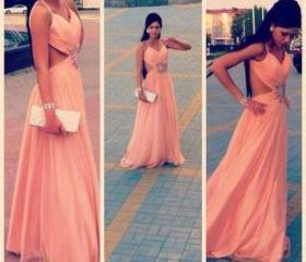 Design Backless Prom..
