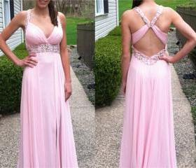 Pink Backless Cross ..