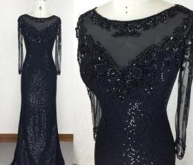 Sequined Prom Dress,..