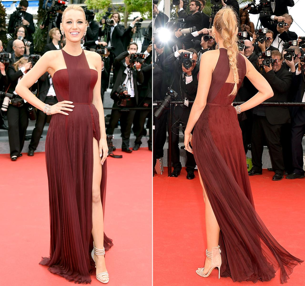 Hot Sale Blake Lively Cannes 2015 Celebrity Inspired Dresses, Red ...