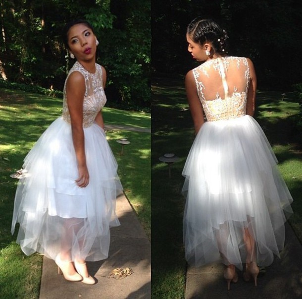 324ddb28dc2 2016 Custom Made See Through Lace Formal Prom Dresses