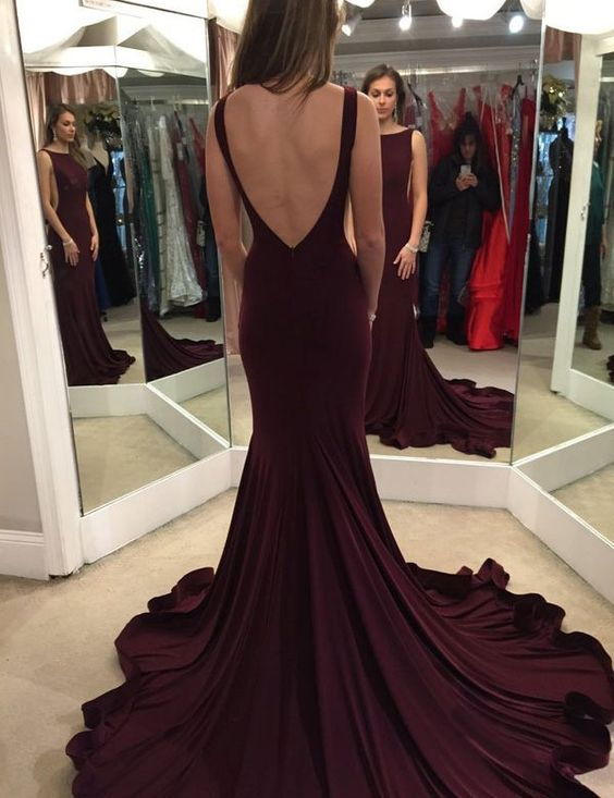 Long evening formal dresses