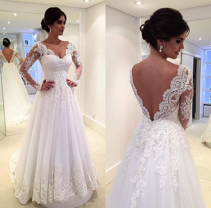 6492dd3864 Vintage Long Lace Mermaid Wedding Dresses 2016 Romantic Bridal Gowns ...