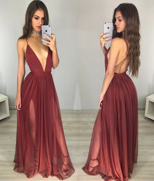 9f50e47c00f0 Evening Dress 2016, Red Prom Dress,Sexy Deep V Neck Prom Dress, Backless  Long Sheath Party Dresses,Sexy V-neck Backless Long Prom Dresses,Charming  Prom ...
