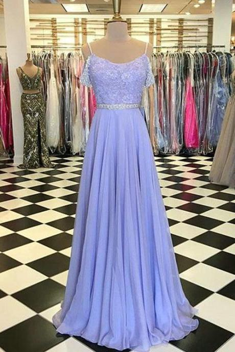 Charming Prom Dress,Long Prom Dress,Chiffon Prom Dress,Beadings Prom Party Dress,Prom Dress 2018,Eveing Dress,Custom Made Prom Dress,