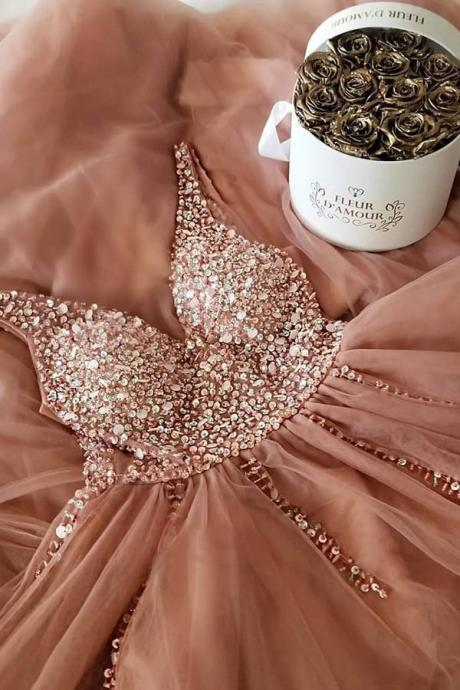 Sexy Prom Dress,Long Prom Dress,Beaded Chiffon Prom Dress,Lace Up Prom Dress,Prom Gowns,