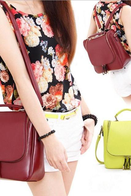 2016 New Style Shoulders Bag,Fashion Women Handbag,Shoulder Bags For Girls ,Hihg Quality Bags,Color(wine red,black,pale bule,rose red,seet pink,yellow