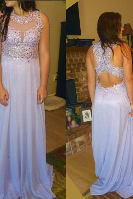 Appliques and Lace Prom Dress,A-Line Prom Dress,Vintage Chiffon Prom Dress,See Through Prom Dress,Party Women Dress,Charming Evening Dress,