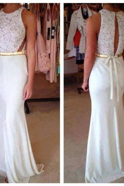 High Quality Prom Dress,Satin Prom Dress,Mermaid Prom Dress,O-Neck Prom Dress,Beading Evening Dress,Party Dress,Formal Dress,