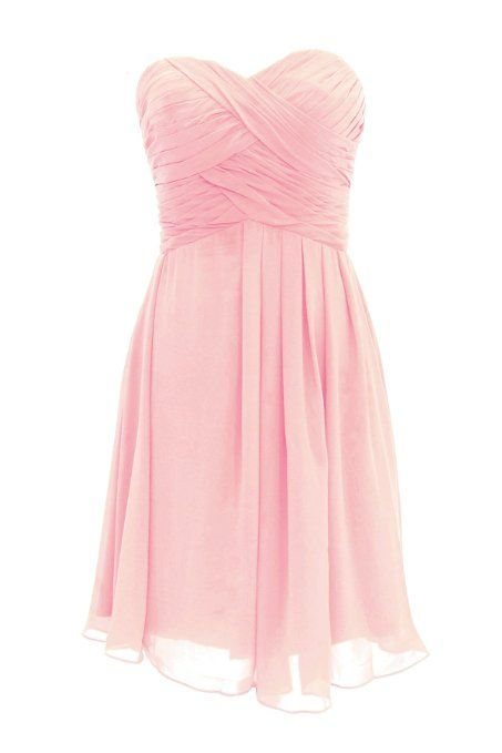 Pretty Light Pink Short Sweet 16 Dresses,Sweet Short Graduation Dresses,Chiffon Short Prom Dress For Teens, Homecoming Dresses, Party Dress,Formal Dresses