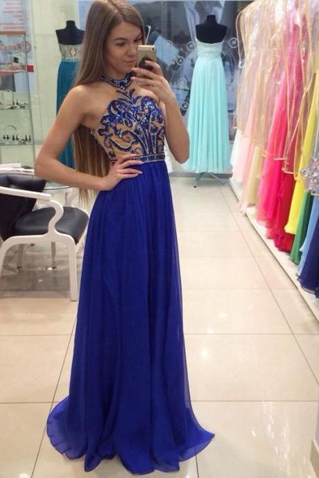 Modest Prom Dress,Long Prom Dresses,Cheap Chiffon Prom Dresses,Beading Prom Gowns,A line Evening Dress,Prom Gowns,Women Dress,Formal Prom Evening Dress,