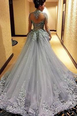 Gorgeous Prom Dress,Long Sleeve Prom Dress, High Quality Prom Gowns,Sexy Evening Prom Dress,Evening Party Dress,Beautiful Party Dress,Women Dress,Special occasions Dress
