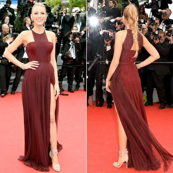 Hot Blake Lively Cannes 2017 Celebrity Inspired Dresses Red Carpet Prom Form On Luulla