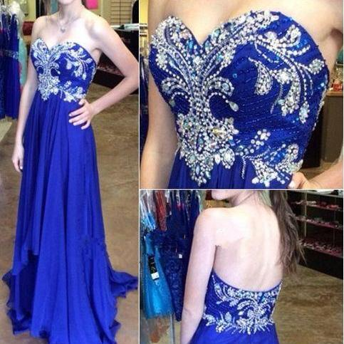 Hot Sale Prom Dress,Charming Prom Gowns,Beading Prom Dress ,Sweetheart Prom Dress,Chiffon Prom Gows, New Arrival Evening Dress,Backless Prom Dress,Backless Formal Dress,