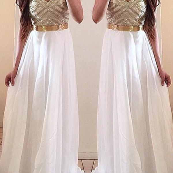 White Prom Dresses, Gold Prom Dress, Unique Prom Dresses, Sexy Prom Dresses,Charming Prom Dress,Pink Evening Dress,A-line Round Neck Light Pink Long Prom Dresses,Pink Long Prom Dress,Beading Evening Dress,Dress For Prom,Formal Dress 2016