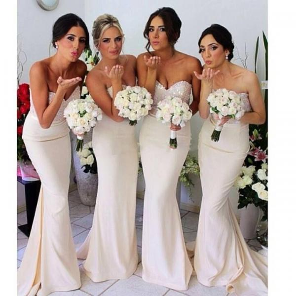 Modest Chiffon Bridesmaid Dresses ,Sweetheart Bridesmaid Dress,Bridesmaid Dress,Bridesmaid Dress 2016,Formal Dresses,Long Dress For Bridesmaid ,Wedding Party Dress,Evening Dress,Special Occasion Dresses