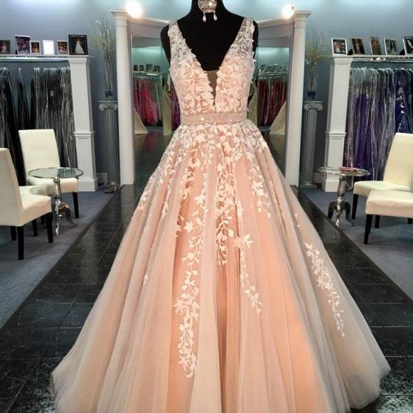 Real Made Prom Dress,Long Prom Dress,Lace Prom Dress,Beautiful Prom Evening Dress,High Quality Evening Dress,Formal Dress,Fashion Party Dress,Weddings Dress,Charming Prom Gowns,